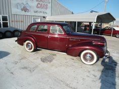 1939 Buick Model 41 Four Door Sedan Buick Sedan, Buick Models, Antique Cars, Vehicles, Doors, Vintage Cars, Car, Vehicle, Tools