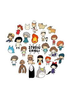 Find images and videos about anime, studio ghibli and totoro on We Heart It - the app to get lost in what you love. Studio Ghibli Films, Art Studio Ghibli, Studio Ghibli Characters, Hayao Miyazaki, Chibi, Japon Illustration, Howls Moving Castle, My Neighbor Totoro, Cute Drawings