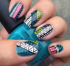 Nice Latest Nail Art Designs