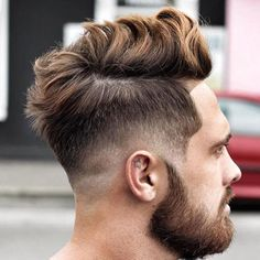 Low Skin Fade with Line Up and Messy Top - Best Men's Hairstyles: Cool Haircuts For Guys Popular Mens Hairstyles, Great Hairstyles, Cool Haircuts, Haircuts For Men, Trendy Hairstyles, Hairstyles Haircuts, 2018 Haircuts, Asian Hairstyles, Medium Haircuts