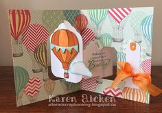 Karen Aicken using the Pop it ups Tags Pivot Card die set by Karen Burniston for Elizabeth Craft Designs. - C4C301  Use a Tag