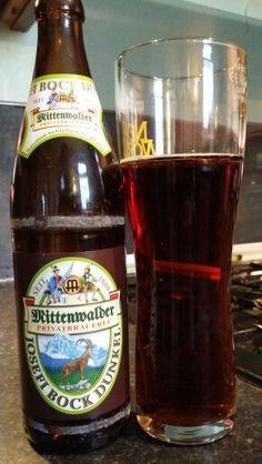 Mittenwalder Josefi Bock Dunkel #craftbeer #realale #ale #beer #beerporn #beerlove #Beergasm #GermanCraftBeer #GermanBeer #PinterestBeer #CraftBeerNotCrapBeer #craftbeerporn #CraftNotCrap #BrewPorn #MittenwalderJosefiBockDunkel #MittenwalderPrivatbrauerei #Mittenwalder #JosefiBockDunkel