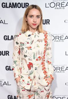 Zoe Kazan at The Glamour Women Of The Year Awards recently took place in Manhattan