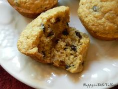 Happy in Dole Valley: Muffin Monday - Banana Chocolate Chip Muffins