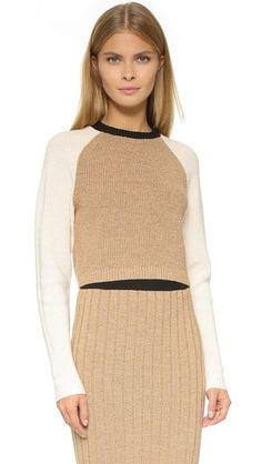 Ronny Kobo Antonina Crop Sweater