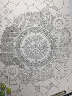 Fantasy Map Making, Fantasy City Map, Fantasy World Map, Fantasy Art, Medieval, Rpg Map, City Layout, Map Icons, Map Maker