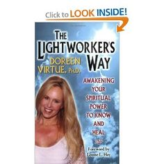 The Lightworker's Way: Awakening Your Spiritual Power to Know and Heal: Doreen Virtue Inspirational Books To Read, Good Books, My Books, Life Changing Books, Spiritual Power, Doreen Virtue, Book People, Happy Reading, Book Quotes