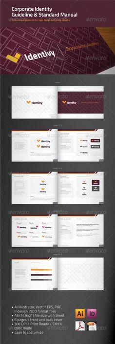 Free Brand Manual Template » VFXFuture.net