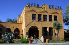 Gage Hotel - Marathon, TX  Room 10 is haunted, you can hear the violin playing at night too