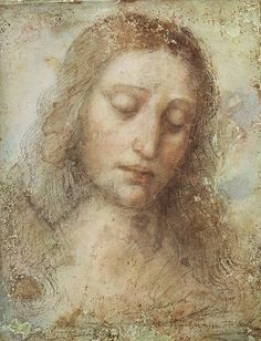 Head of Christ, Da Vinci.