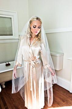 Bridal Juliet Cap Wedding Veil with Rhinestone Border, Gold or Silver, Bridal Illusion Crystal Edge Style: Captured Rhinestone #1209
