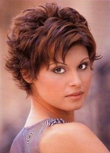 short layered flipped hairstyles