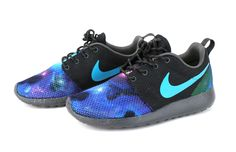 Nike Women Roshe Run Custom Galaxy by Artsysole45 on Etsy https://www.etsy.com/listing/194886209/nike-women-roshe-run-custom-galaxy