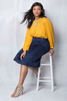Lace Detail Tunic Top | Into the Groove Collection | Women's Plus Size Fashion | ELOQUII