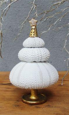 Holidays Decoration Christmas Tree Inspired by the Sea - Sea Urchin Tree