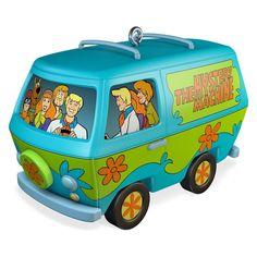 The Mystery Machine 2016 Hallmark Scooby Doo Ornament Shaggy Fred Velma Daphne #Hallmark