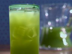 Mean Green Cucumber Juice Recipe : Since the juice has to be chilled before pouring in a pitcher with ice, I'm going to try juicing the cucumbers and adding the water and sugar. Seems like a much quicker and easier process. I'll update after I try it!