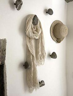 stones+wood = hanger
