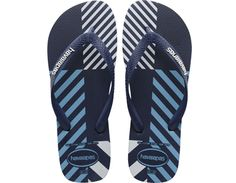 <p>The best-selling Trend features bold stripes, geometric shapes and stylish color combinations printed on our signature textured footbed for a striking look and comfortable feel.  A matte strap with a contrast Havaianas logo finishes the look.</p><ul><li>Thong style</li><li>Cushioned footbed with textured rice pattern and rubber flip flop sole</li><li>Made in Brazil</li></ul>