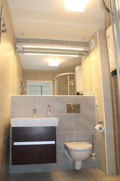 Koupelna v apartmánu Pavlov