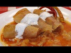 Szabolcsi lakodalmas töltött káposzta - YouTube Hungarian Recipes, Easy Entertaining, Meal Prep, Main Dishes, French Toast, Make It Yourself, Meals, Breakfast, Youtube