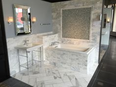 Marble Attache In Calacatta 24 Quot X 48 Quot Matte Field Tile On