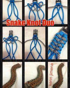 545 отметок «Нравится», 7 комментариев — dect21 (@pinoyparacordist21) в Instagram: «re-posting snake knot duo by Kenn jimena @kennabuji #paracords #paracordtutorials #paracordlife…»