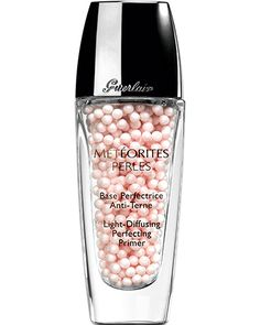 Guerlain Meteorites Perles light-diffusing perfecting primer: rosy pearls with micro-sparkles, combined with a clear gel. Rimmel, Maybelline, Guerlain Makeup, Mascara, Skin Makeup, Beauty Makeup, Base Makeup, Skin Products, Makeup Products