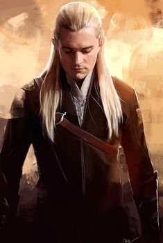 This is why we watch LOTR and The Hobbit...  Legolas Greenleaf by Namecchan.deviantart.com on @deviantART