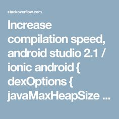 I am getting this Gradle error every time I run my app. The error is: To run dex in process, the Gradle daemon needs a larger heap. Studio App, Studio Layout, Android Studio, Me App, Programming, Computer Programming, Coding