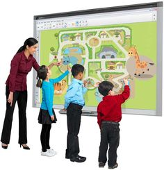 Interactive Whiteboard Games to Use in the classroom  So excited to     Image used with permission of SMART Technologies ULC  www smarttech com    SMART Board     and the SMART logo are trademarks of SMART Technologies ULC  and may