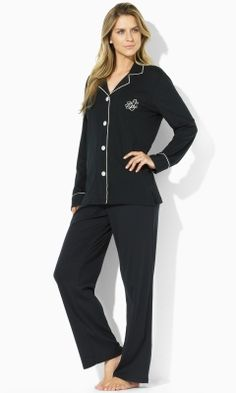 Cotton Jersey Pajama Set - Lauren Sleepwear & Robes - RalphLauren.com