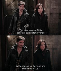 Hook & Regina (ep.2x20)  I think that's when he starts trying to change.