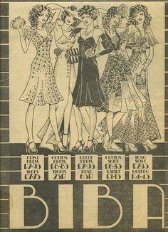 Biba Advert ~ Biba ~ London's Lost Department Store of the Swinging Sixties By Inge Oosterhoff