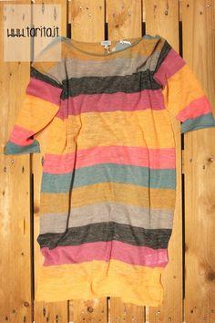 Hoss Intropia. Striped linen dress.