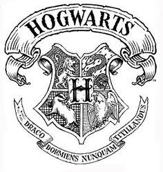 Hogwarts House Crest Coloring Page