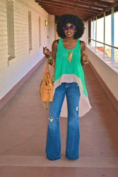 Note to self: make this shirt!!!! Wear with distressed jeans.  Grow afro.