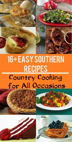 Southern style sunday dinner ideas jamonkey atlanta mom blogger these 16 easy southern recipes are just the thing to take any meal to the next level forumfinder Images