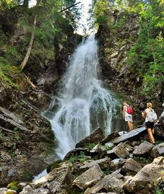 Roháčsky vodopád @cestujslovenskom.sk Waterfall, Outdoor, Outdoors, Waterfalls, Outdoor Games, The Great Outdoors