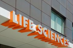 Life sciences signage