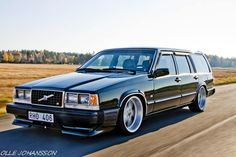 Volvo R - She's coming after your groceries... with a 400hp Turbo Diesel & pulls 1g on the skidpad.