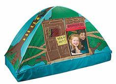 Pacific Play Tents Tree House Bed Tent. Measured dimensions is 77  L x 37  W x 40  H. And also comes with patented u201cG-3u2033 poles which is claimed tu2026  sc 1 st  Pinterest : tree house bed tent - memphite.com