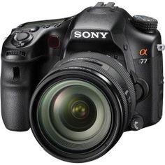 Sony A77 24.3 MP Translucent Mirror Digital SLR With 16-50mm F2.8 lens