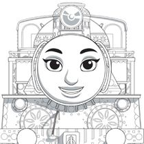 thomas and friend faces to color! oncoloring.com #kuedkids ...