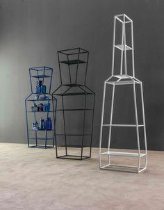 June, June, April Shelving units  by Bonaldo www.bonaldo.it  #bonaldo #interior #design #interiordesign #madeinitaly #shelf #metal #colourful #april #june #white #blue #black #colorful #modern #designer #dubai #showroom
