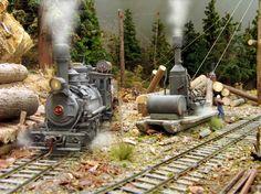 Logging Railroad | The Vladimirskaya Polyana logging camp – The Railmaster 0-6-0 ...
