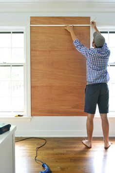 Young House Love   How To Make A Giant Cork Board Wall For Kid Art
