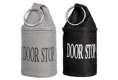 Fabric Door Stop w/ Ring, Asst. of 2 on OneKingsLane.com