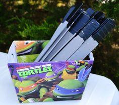 Teenage Mutant Ninja Turtles Birthday Party Ideas | Photo 5 of 37 | Catch My Party