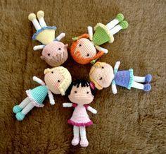 Mesmerizing Crochet an Amigurumi Rabbit Ideas. Lovely Crochet an Amigurumi Rabbit Ideas. Doll Amigurumi Free Pattern, Crochet Dolls Free Patterns, Amigurumi Doll, Cute Crochet, Easy Crochet, Crochet Toys, Crochet Animals, Crochet Slippers, Vintage Crochet